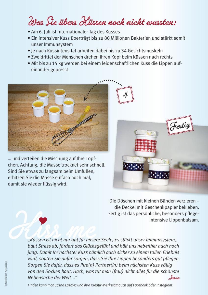 "Jasna`s Kreativ-Werkstatt im ""Griaß di"" Füssen"