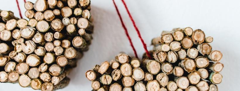 Jasna`s Kreativ-Werkstatt: Holzherz aus Aesten
