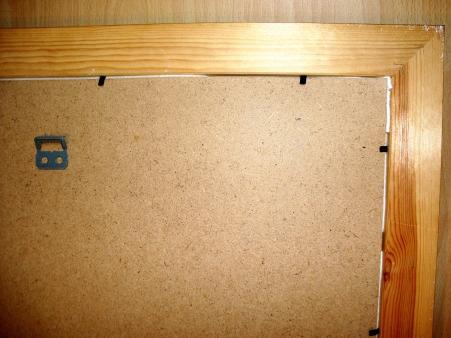 Jasna`s Kreativ-Werkstatt: Pinnwand mit Leinenstoff