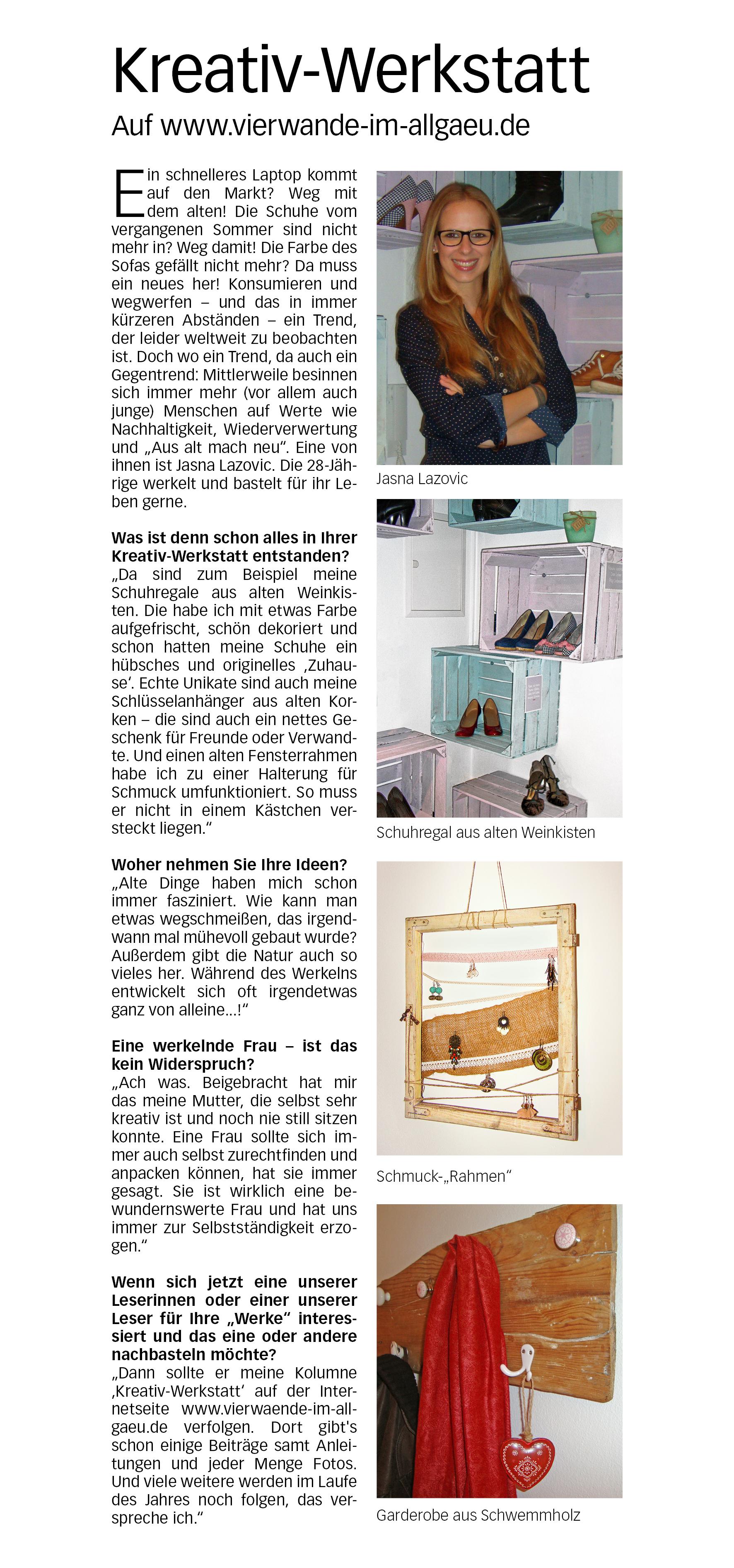 Schön Zeitung Rahmen Fotos - REV