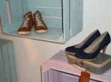 Jasna`s Kreativ-Werkstatt - Schuhregal aus alten Weinkisten
