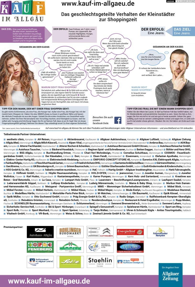 """Jasna`s Kreativ-Werkstatt schreibt für """"Kauf im Allgaeu"""" der Allgaeuer Zeitung"""