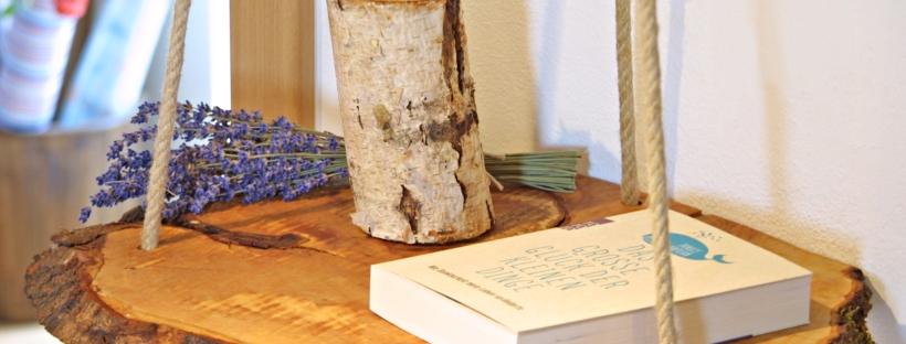 JKreativ-Werkstatt - Haengender Holztisch