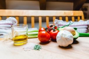 Jasna`s Kreativ-Werkstatt: Avocado Tomaten Salat