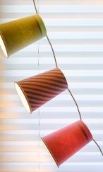 Jasna`s Kreativ-Werkstatt: Lichterkette aus Pappbechern