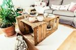 Jasna`s Kreativ-Werkstatt - Couchtisch aus alten Kisten