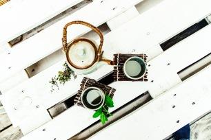 Jasna`s Kreativ-Werkstatt: Untersetzer aus Ästen