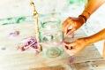Jasna`s Kreativ-Werkstatt: Vogelhaus aus einem Einmachglas
