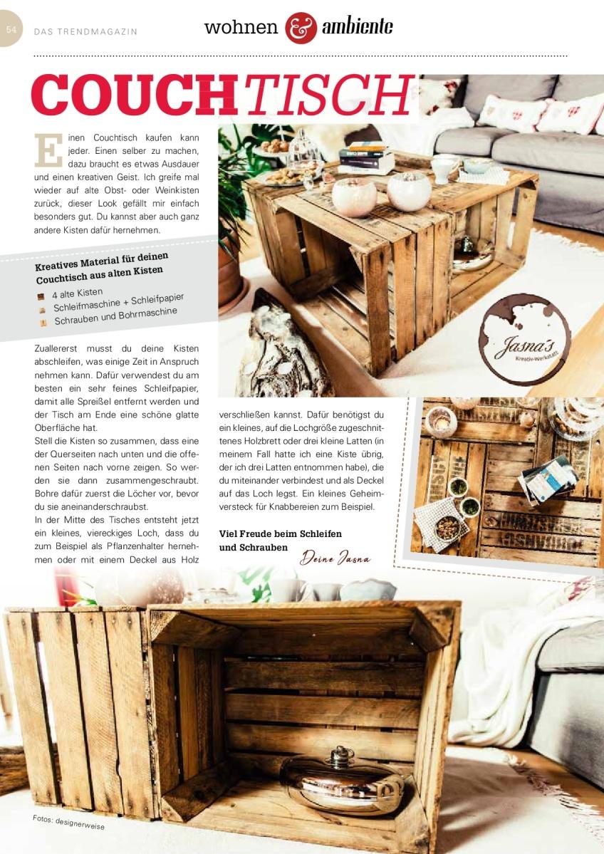 """Jasna`s Kreativ-Werkstatt im """"life & style"""" vom Allgäuer Anzeigeblatt"""