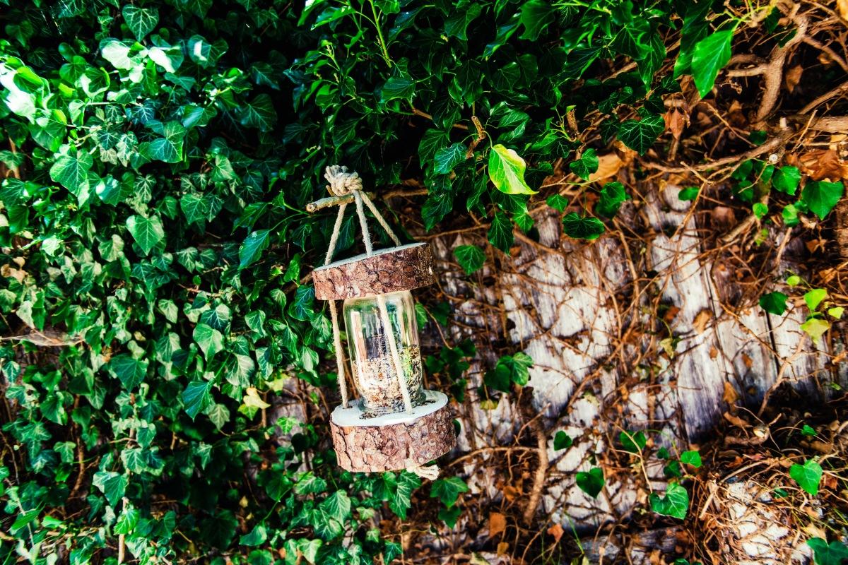 Jasna`s Kreativ-Werkstatt: Vogelhaus aus Holz