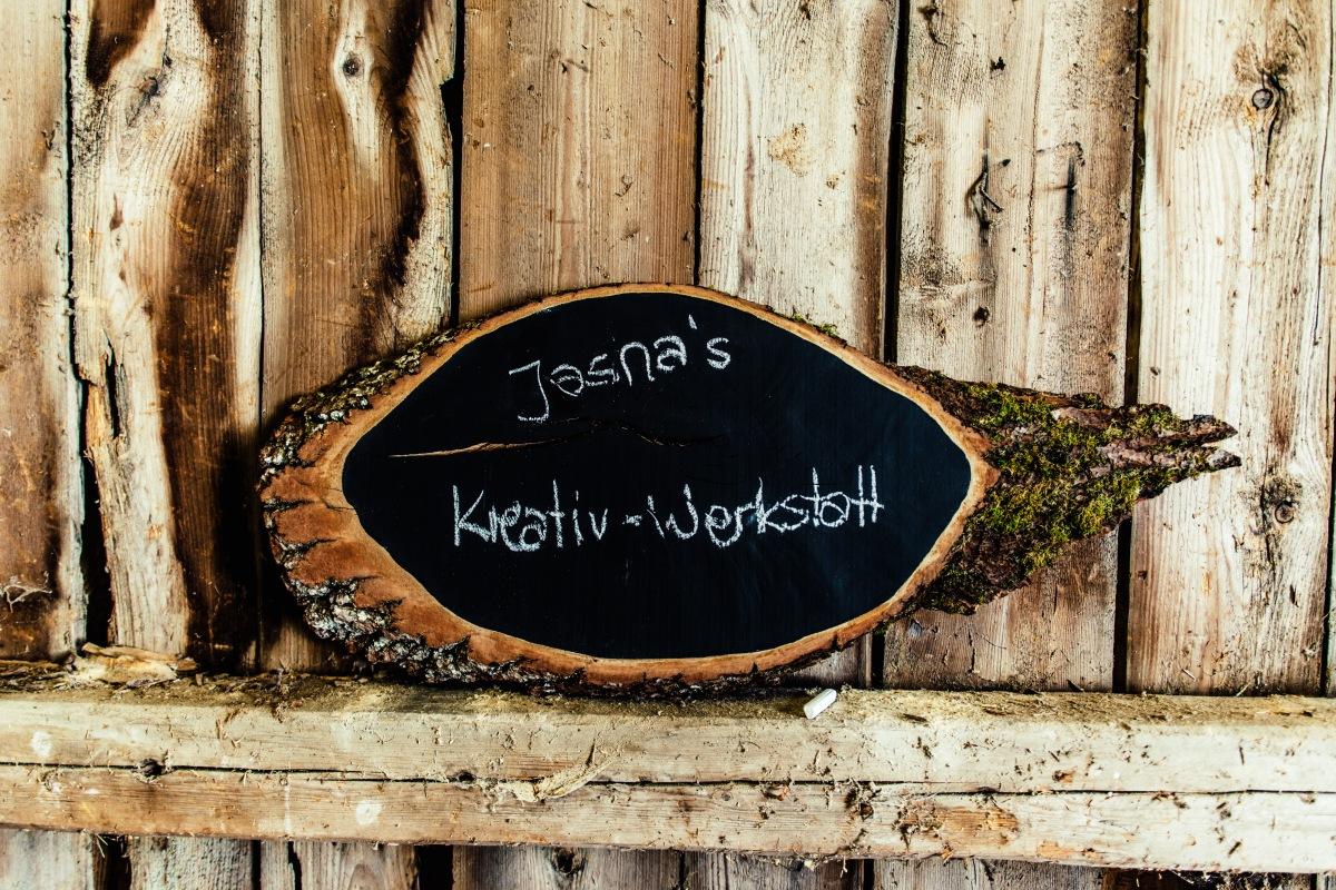 Jasna`s Kreativ-Werkstatt: Tafelwand