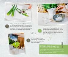 """Jasna`s Kreativ-Werkstatt im """"von hier"""" Magazin von Feneberg: Matcha-Maske und Bio Aloe Vera Shampoo"""