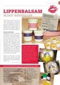 Jasna`s Kreativ-Werkstatt im life&style Magazin vom Allgäuer Anzeigeblatt: Lippenbalsam Foto: designerweise